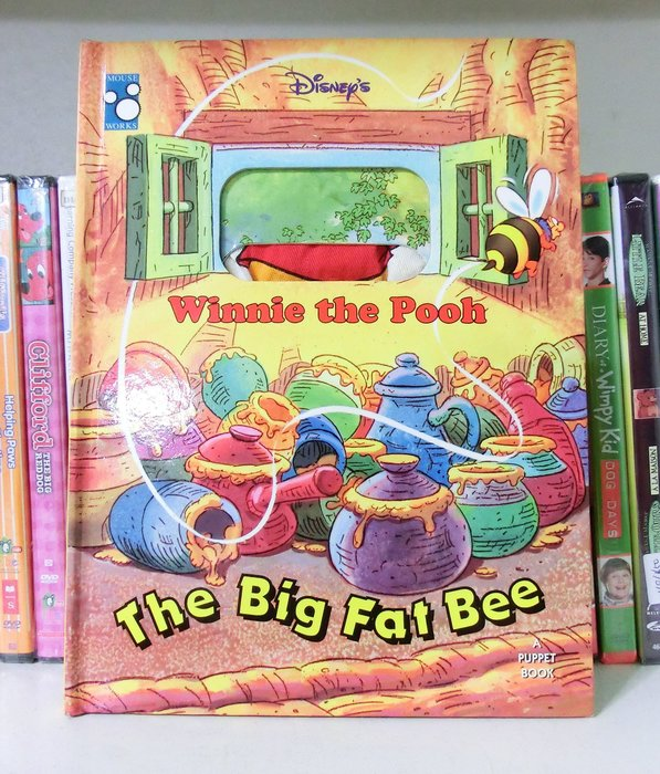 *【小pen外文童書】*小pen~ 迪士尼維尼小熊 繪本~玩偶書