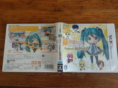 3DS N3DS 初音未來與明日之星 未來計畫