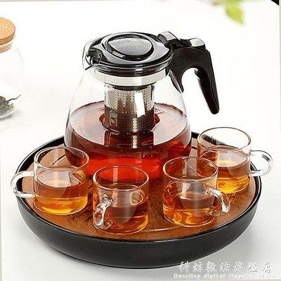 現貨/耐熱玻璃過濾茶壺 大容量花茶壺茶杯普洱茶壺不銹鋼泡茶壺 igo/海淘吧F56LO 促銷價