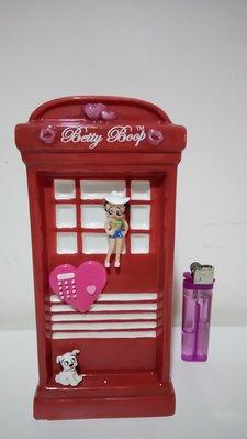 二手早期經典絕版貝蒂娃娃 Betty Boop公仔陶瓷存錢桶