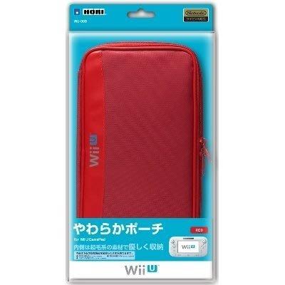 任天堂 Wii U GamePad 專用 HORI 收納包 攜帶包 紅色【台中恐龍電玩】