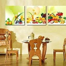 【厚1.2cm】水果-客廳現代簡約裝飾畫無框畫【190114_054】【60*60cm】1套價