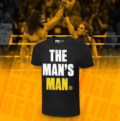 [美國瘋潮]正版WWE Seth Rollins The Man's Man T-shirt 人中之人SR最新合體款衣服