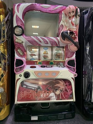 柯先生日本原裝SLOT斯洛拉霸機台2016 緋彈的亞莉亞 超辣妹萌萌性感大型遊戲機台在家享受樂趣民宿美式日式餐廳佈置