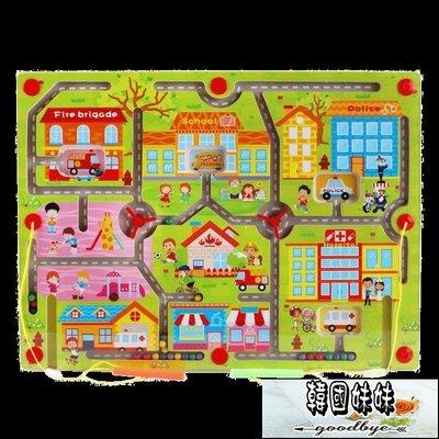 兒童益智迷宮玩具走珠磁性運筆3-4-6...