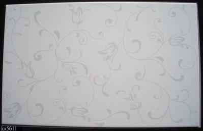 【磁磚之嘉】  25*40 閃光釉 銀之花 可當花磚 單貼不單調 ~造型款2