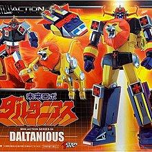 ACTION TOYS MINI ACTION SERIES 金毛獅王DALTANIOUS(POPY超合金魂GX SUPER ROBOT超級機械人V形電磁俠)