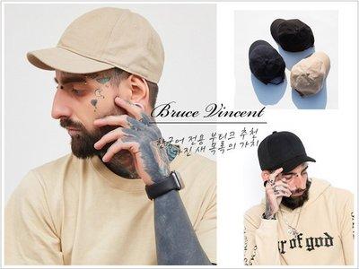 BV布魯斯 {P53} 超強新版韓國超短帽簷美式復古棉質擺搭素色老帽棒球帽 8色現貨+預購
