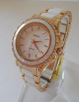 【海洋之心二館】DKNY NY8818/8821/8829 陶瓷水鑽女款手錶 32mm((現貨在台))