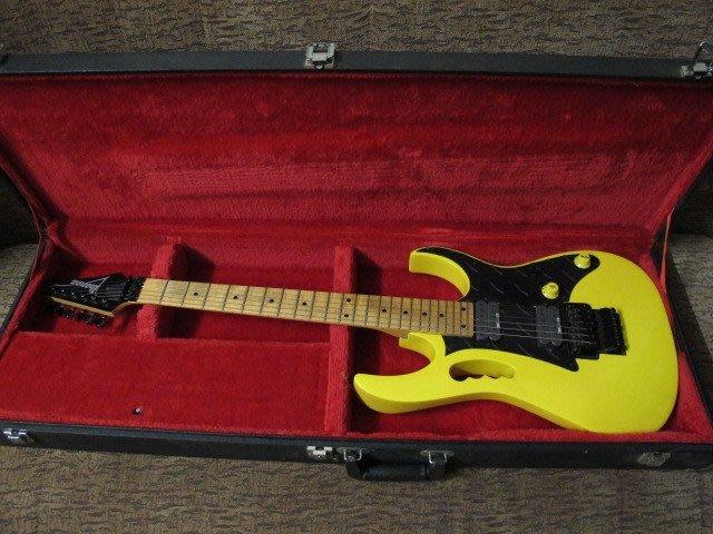 ☆ 收藏出讓︵☆ Ibanez RG550 電吉他(JEM 琴身訂製改裝)