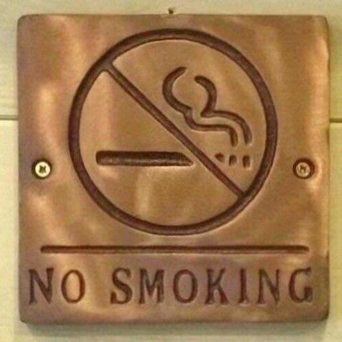 《齊洛瓦鄉村風雜貨》NO SMOKING禁止吸煙掛飾