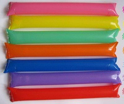 氣球 加油棒 充氣棒 (兩支$8) 螢光棒 LED 廣告 行銷 禮品 贈品 造勢商品 客製化LOGO【A990009】