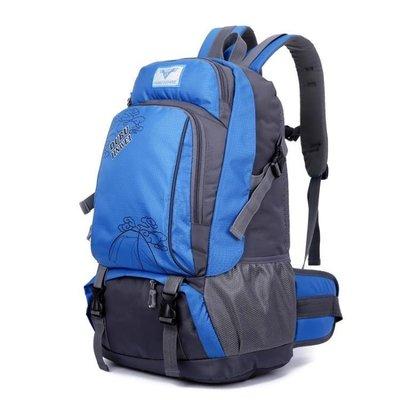 哆啦本鋪 新款戶外登山包運動旅游背包女韓版雙肩書包男旅行雙肩包中學生潮 D655