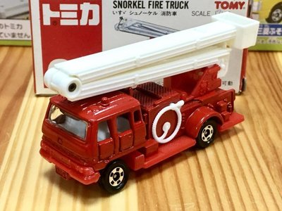TOMICA (CITY) No.68 SNORKEL 消防車
