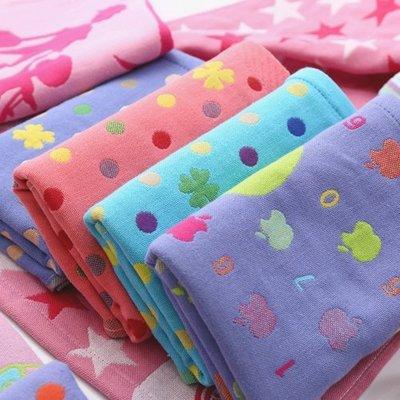 BabyFace【三層紗】紗布料擦澡巾洗臉乾髮吸水透氣適幼兒園托兒所使用 5入不挑款
