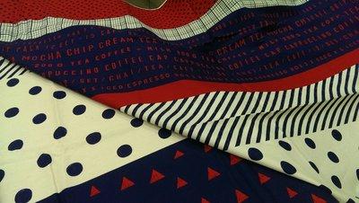 豬豬日本拼布/ 懶人布B款/ 一尺有多個圖案可以利用/牛津布材質