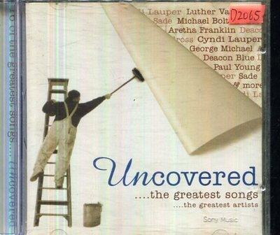 *還有唱片四館* UNCOVERED THE GREATEST SONGS 二手 D2065