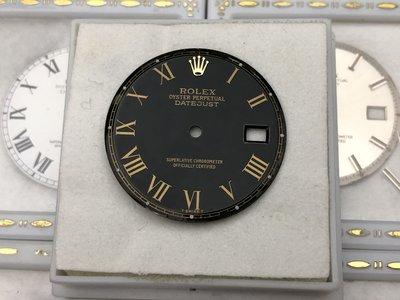 ROLEX  1601 1600 1603 少有黑面金羅馬!Buckley dial 早期已翻修!