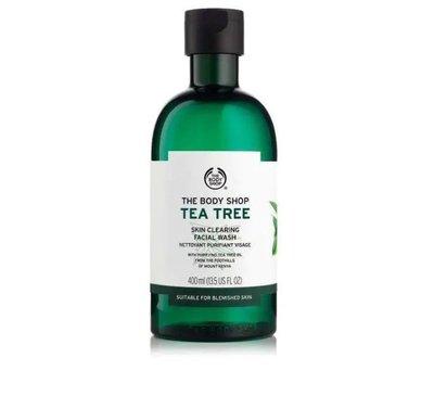 ※美國代購-潔潔小屋※The Body Shop Tea Tree 美體小舖茶樹淨膚潔面-- 400ml