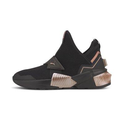 [狗爹的家] PUMA PROVOKE XT MID 黑 金屬銅 女訓練鞋 Jolin 蔡依林代言 現貨 免運