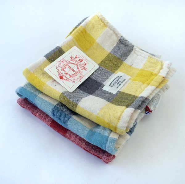 日本製 今治毛巾 KONTEX 有機棉 棉紗 方巾 毛巾 洗臉巾 親膚柔軟