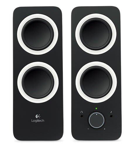 【鳥鵬電腦】Logitech 羅技 Z200 多媒體揚聲器 黑 耳機插孔 BASS 低音調整 飽滿立體聲