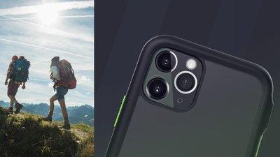 正品 MILSTD 810G 3米防摔  MUVIT iPhone 11 Pro (5.8吋) 防摔手機保護殼 軍綠色