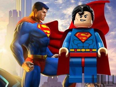 =CodE= 全新LEGO 樂高 SUPER HEROES 超級英雄鑰匙圈(超人SUPERMAN).真品公司貨.DC UNIVERSE.克拉克