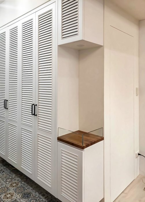 美式烤白 百葉鞋櫃 置物櫃 收納櫃 電器櫃 皆可訂製【帷圓定制】