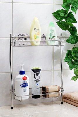 免鑽孔設計」新世代無痕貼片浴室瓶罐架,置物架,沐浴乳收納架,浴室架,可站在浴缸邊的聰明設計喔