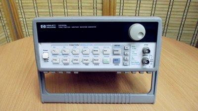 康榮科技二手測試儀器領導廠商HP 33120A 15MHz Function/Waveform Generator