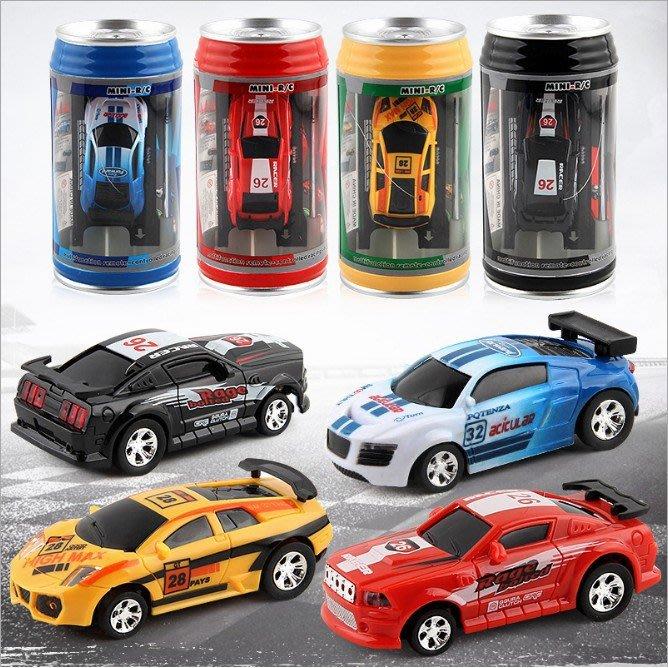 易開罐小汽車 迷你遙控車 遙控車 兒童玩具 罐裝小汽車【Miss.Sugar】【K000396】Z01