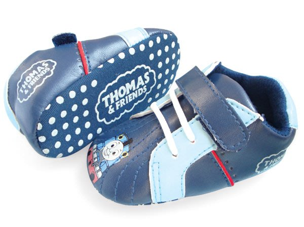 BHA030-THOMAS 湯瑪仕小火車嬰兒軟底防滑學步鞋【出清價】100元