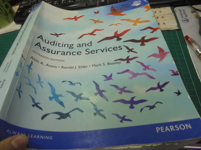 Auditing and Assurance Services2017年版 16E 9781292147871位6-3