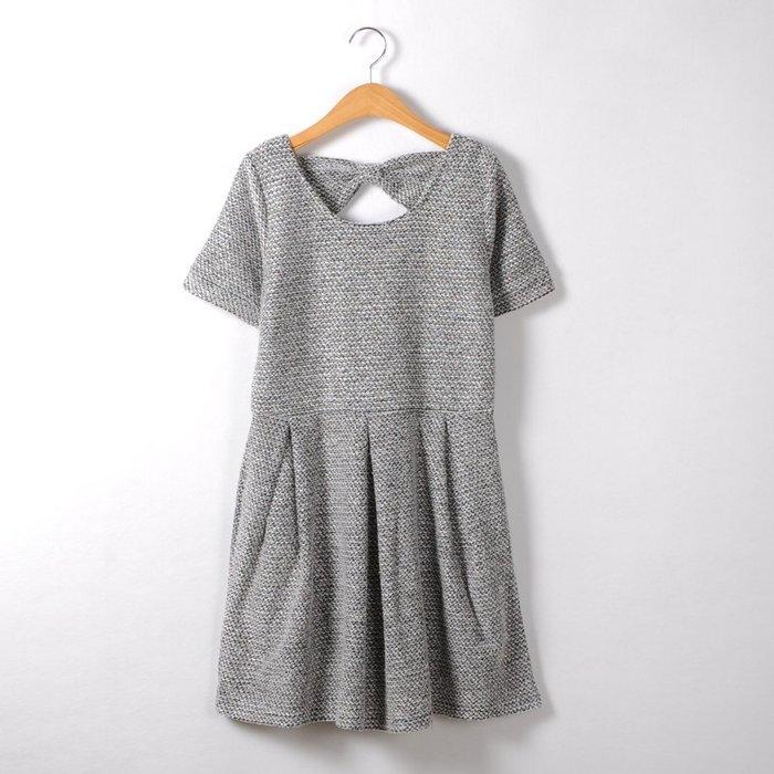 ☆UeF☆日本正品氣質蝴蝶結簡約洋裝(新)