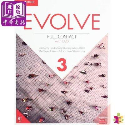 [文閲原版]劍橋英語口語進展教程(第三級全套)英文原版 Evolve Level 3 Full Contact ELT英語教材與教學