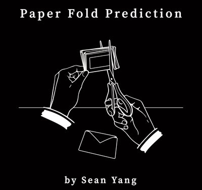 【魔術寶道具店】原創道具~Paper Fold Prediction by Sean Yang~雙重預言紙~強力推薦