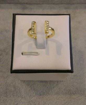 Kate Spade New York  Dainty Sparklers Bar Ring  金色 6&8號 現貨