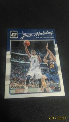 2016-17 DONRUSS OPTIC~Jrue Holiday 金屬普卡 # 99