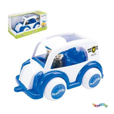 【晴晴百寶盒】瑞典進口 嘀嗚警車 VIKINGTOYS 男孩最愛 車車控 禮物益智遊戲玩具高品質W207