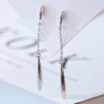925純銀 耳 環 長款耳飾-時尚優雅大方氣質女飾品73qo23[獨家進口][米蘭精品]