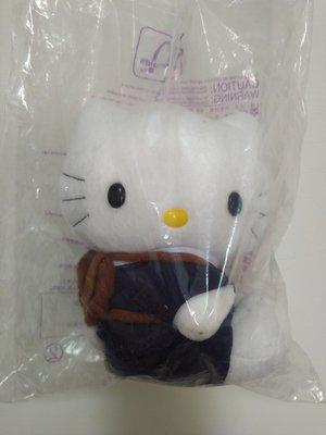 絕版限量 麥當勞hello kitty第一代 民國88年-麥當勞-絕版贈品-KITTY貓-老玩具 凱蒂貓玩偶 國民小學送禮 聖誕節禮物