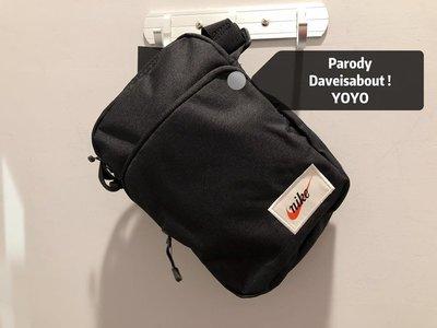 代購 沒有假貨賣你「Parody」Nike 經典 復古 老標 小包 側背 斜背 肩背 單車包 多公能 小型收納外用包