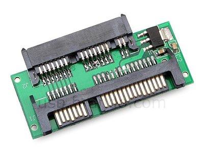 Micro SATA to SATA 可將1.8吋 轉成2.5 or 3.5 吋硬碟