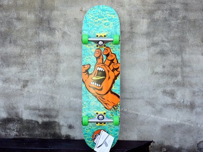【 K.F.M 】Santa Cruz SCREAMING HAND FOAM 8.0 整組 技術板 滑板 美國進口滑板