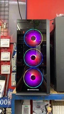 『高雄程傑電腦』富鈞 XIGMATEK SIROCON III A.RGB 支援240MM水冷 34CM顯卡【現場展示】