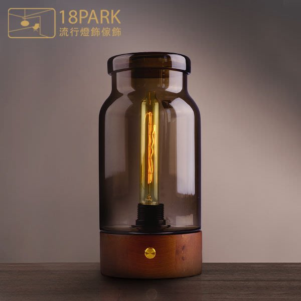 【18Park 】玻璃原木 Story bottle lamp [ 故事瓶檯燈]