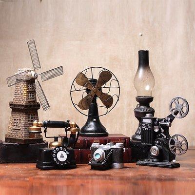 創意 裝飾 擺件 墻上裝飾 生日禮物歐式創意復古裝飾品擺件道具擺設美式電話機咖啡廳服裝店櫥窗陳列
