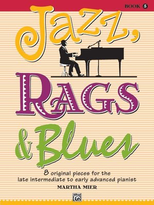 【599免運費】Jazz, Rags & Blues, Book 5 Alfred 00-32715