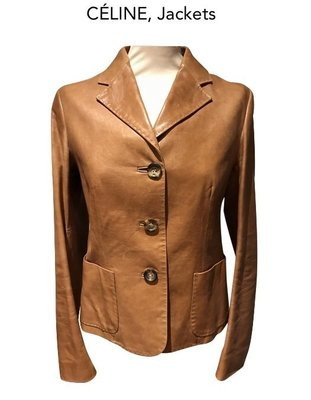Celine jackets 小羊皮皮衣精品